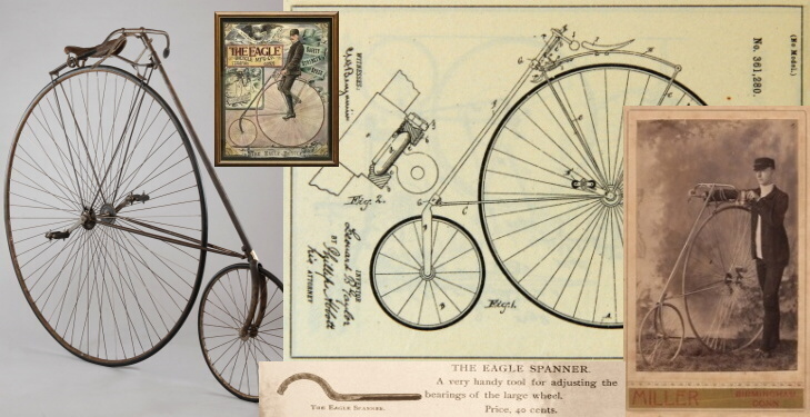 Eagle Bicycle Mfg. Co. - historie firmy