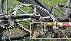 Antique Bicycles Day 2017 – Boskovštejn