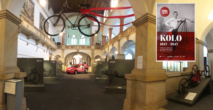"An Exposition ""The Bicycle 1817 – 2017"", The North Bohemian Museum in Liberec – Czech Republic"
