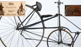 Bicycles of Josef Erlach and Valentin Wiegele
