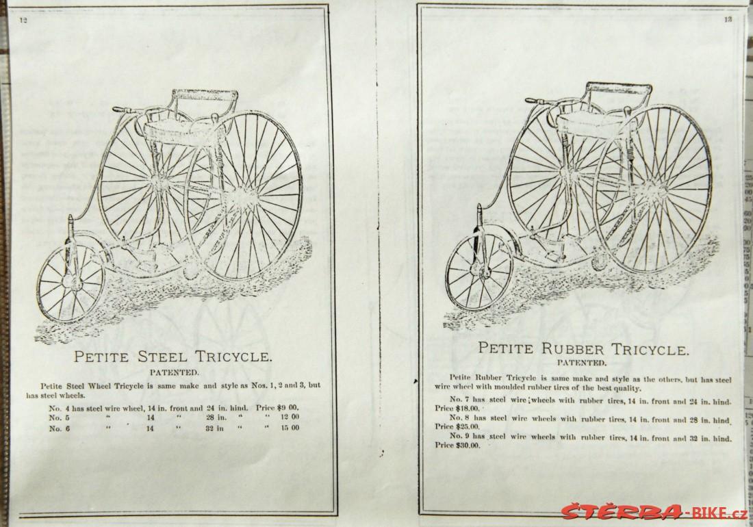 OTTO Bicycles USA - 1885 - OTTO Bicycles USA - 1885 - Catalogs \