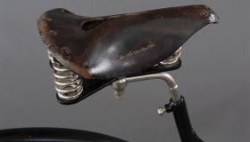 Men's X frame safety bicycle, 1887/89