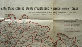 Map of cycling clubs