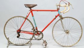Sauvage-Lejeune race bike, early 1960s.