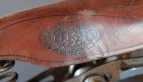A saddle for lady's bicycles - ESKA