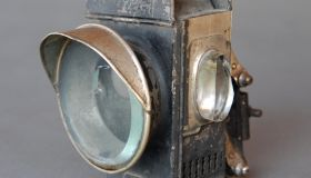 Safety lamp c1885