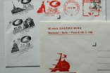 "Group of postage stamps and postmarks ""Cours de la Paix"" - The Czech Republic"