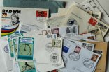 Group of postage stamps and postmarks -Germany