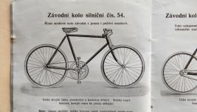 "Catalogue ""Premier"" - 1912 czech"