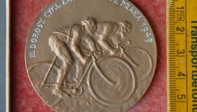 3x cycling medal