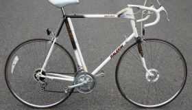Raleigh with early cyclocomputer c.1980