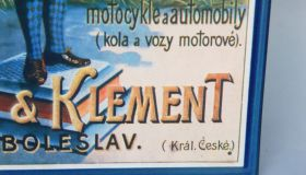 """Laurin & Klement""  wall sign"