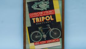TRIPOL posters in frame