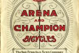 """Arena a Champion"" catalogue - 1898"