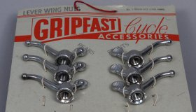Set of Gripfast wing nuts