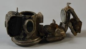 Oil Lamp Jos. Lucas - Silver King