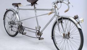 Ultra-rare Barra alumium tandem of the 1930s
