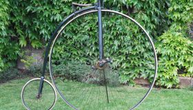"Unknown High wheel., England 52"" – c.1885"