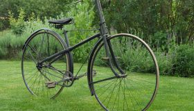 Men's X frame safety bicycle, c.1888