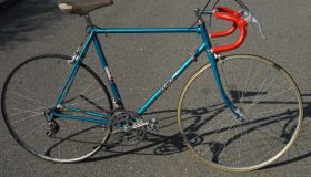 Race bicycle - made in USSR c.1970