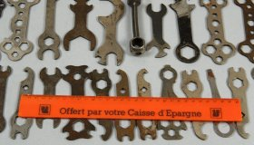 Set of 30 period spanners