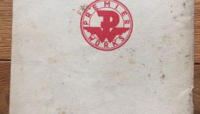 Premier catalogue 1937 and 1938