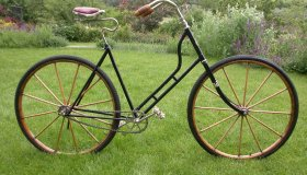 Hickory lady's bicycle, Hickory Wheel Co. - USA