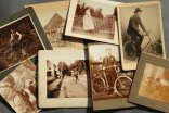 Set of 8 carton photographs