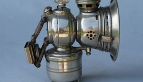 Acetylene gas lamp Powell & Hanmer Ltd.,