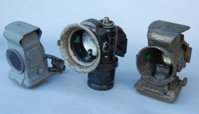 Set of three lamps