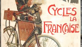 French poster - CYCLES LA FRANCAISE