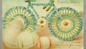 4 Easter postcards
