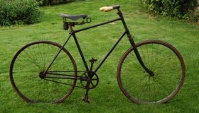 Men's safety bicycle - unknown manufacturer - probably France 1898