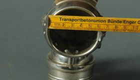 Small acetylene gas lamp