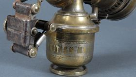 H. Miller & Co. 'Cetolite' acetylene gas lamp