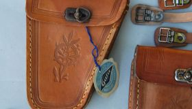 Pair of man's tool bags