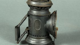 Jabez Bates & Co. oil lamp
