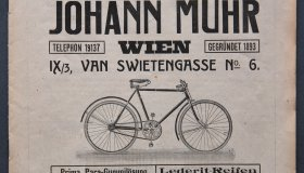 Johan Muhr - Velo catalogue 1919