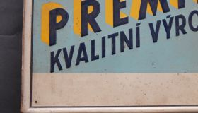 """Premier""  wall sign 3"