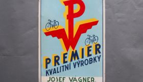 """Premier""  wall sign 6"