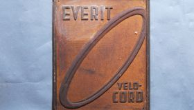"""EVERIT""  wall sign"