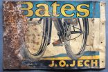 """BATES""  wall sign"