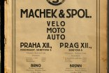 Machek & Co. Velo catalogue 1929