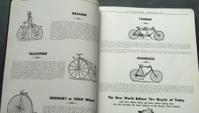 4x Velo catalogues USA 1938-62