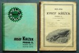 2x Josef KŘÍŽEK catalogue