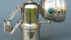 Carbide lamp LUXOR with box