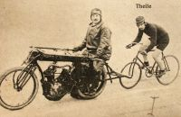Bicycles and motorcycles