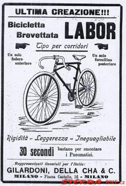 Labor Lefty, mod. Tour de France, France - after a year 1910 - Labor Lefty, mod. Tour de France, France - after a year 1910 - The Gallery - The Gallery - The Gallery - STERBA-BIKE.cz