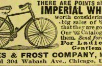 1892 AMES & FROST COMPANY