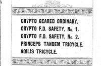Crypto Cycle Company, Ltd. - 1894